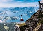 Mt. Experiência Ferroviária Pilatus Cogwheel. Lucerna, Suíça