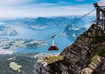 Mt. Pilatus Cogwheel Railway Experience. Lucerna, Switzerland