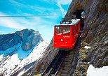Recorrido turístico autoguiado de ida y vuelta al Monte Pilatus desde Lucerna. Lucerna, SUIZA