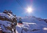 Billete para el teleférico del Monte Titlis en Engelberg. Lucerna, SUIZA