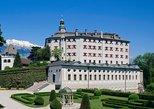 Ingresso normal de entrada para o Castelo Ambras em Innsbruck. Innsbruck, Áustria
