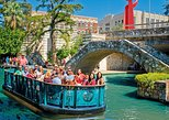 San Antonio River Walk and Tower of the Americas. San Antonio, TX, UNITED STATES