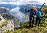 Preikestolen off the beaten track hike, Stavanger, NORWAY