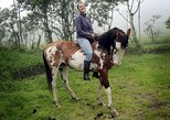 Pululahua Volcano Equator Line and 3-Hour Horseback Ride Trip. Quito, ECUADOR