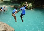 Blue Hole plus Secret Falls and Dunns River Falls Combo from Falmouth Hotels. Trelawny, JAMAICA