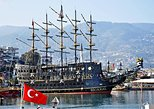 Pirate Ship with Alanya City visit with lunch and drinks. Belek, Turkey