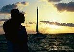 Cruzeiro-jantar ao pôr do sol em Nassau. Nassau, BAHAMAS