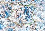 Dolomiti Ski Tour: Sellaronda from Cortina d'Ampezzo. Cortina d Ampezzo, ITALY