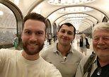 Visita privada al metro de Moscú. Moscu, RUSIA