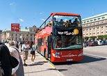 Excursão pelo litoral: Passe diário em ônibus vermelhos com várias paradas. Estocolmo, Suécia