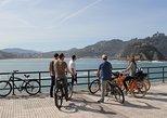 Recorrido en bicicleta por San Sebastián. San Sebastian, ESPAÑA