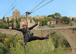 Toledo Urban Zipline with Digital Photo. Toledo, Spain