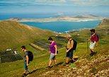 Visita a pie por el volcán la corona y el risco de Famara. Lanzarote, ESPAÑA