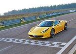 Unchain the Ferrari energy on racetrack. Modena, ITALY