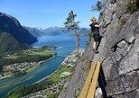 Romsdalsstigen Via Ferrata - Introwall. Andalsnes, NORWAY