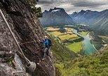 Romsdalsstigen Via Ferrata - Westwall. Andalsnes, NORWAY