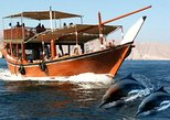 Khasab to Musandam Fjords Dhow Cruise with Dolphin Watching. Jasab, OMAN