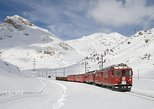 Tour Bernina Red Train And St Moritz. Milan, ITALY