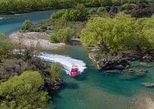Jet Boat Adventure on the Mighty Clutha River from Wanaka. Wanaka, New Zealand