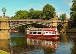 Crucero turístico en el río Ouse en York. York, INGLATERRA