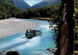 Mount Aspiring Jet Boat and Wilderness Walk from Wanaka. Wanaka, New Zealand
