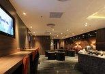 DeIhi Indira Gandhi Plaza Acceso a la sala de salidas Premium. Nueva Delhi, INDIA