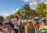 Excursión en autobús Big Bus de dos pisos con paradas libres en Miami con playas. Miami, FL, ESTADOS UNIDOS