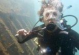 Reserva no curso de mergulho em mar aberto da PADI. Santa Marta, Colômbia
