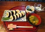 Classe de pequenos grupos de sushi de Kyoto. Kioto, JAPÃO