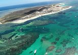 Abrolhos Flyover with Morning Tea on East Wallaby Island. Geraldton, AUSTRALIA