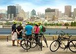 Arquitetura de Montreal, cidade, comida e bebida de 4 horas de passeio de bicicleta,