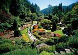 Victoria e os Jardins de Butchart saindo de Vancouver. Vancouver, CANADÁ