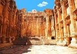 Excursão particular: viagem diurna em Anjar, Baalbek e Ksara saindo de Beirute. Beirut, Líbano