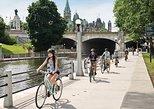 Recorrido en bicicleta por la capital de la nación. Ottawa, CANADA