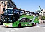 Excursão em ônibus panorâmico por Copenhague de ônibus e barco,