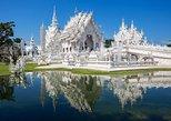 Templo Branco - Triângulo Dourado - Cruzeiro. Chiang Mai, Tailândia