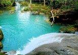 Combo de excursões particulares em Blue Hole e Parque das Cataratas Konoko. Ocho Rios, JAMAICA