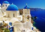 Escapada de un día independiente a la isla Santorini desde Creta. Heraclion, GRECIA