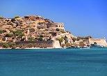 Excursión de día completo a la isla de Spinalonga con almuerzo de barbacoa. Heraclion, GRECIA