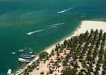 Viaje en goleta de Maceió a la playa de Gunga de día completo en goleta,