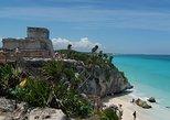 Excursão express de meio dia às ruínas maias de Tulum, saindo de Cancún, com entrada. Tulum, MÉXICO