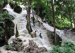 Excursão particular de Chiang Mai até as cachoeiras e tirolesa de Bua Thong. Chiang Mai, Tailândia