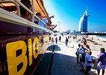 Excursão de ônibus grande com embarque e desembarque em Dubai,