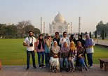 Private Day Tour of Taj Mahal and Agra Fort By Superfast Train - All Inclusive. Nueva Delhi, India
