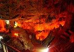 Entradas para as Cavernas de Gênova, de Mallorca. Mallorca, Espanha