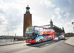 City Sightseeing Stockholm Hop-On Hop-Off Bus & Optional Boat Tour,