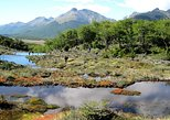 Parque Nacional Tierra del Fuego con bahía Lapataia desde Ushuaia, Ushuaia, ARGENTINA
