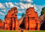 Excursión a las ruinas jesuíticas de San Ignacio Miní desde Puerto Iguazú. Puerto Iguazu, ARGENTINA