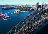 Voo panorâmico de hidroavião em Sydney,