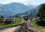 Traslado para salidas de la estación de tren de Salzburgo. Salzburgo, AUSTRIA